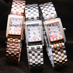 Girls Fashion Stainless Steel Bracelet Wrist Watch 3ATM Waterproof pictures & photos