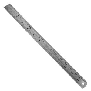 "OEM High Quality Measuring Tools 300mm (12"") Stainless Steel Ruler pictures & photos"