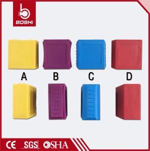 Bd-G11dp Cheap Colorful Waterproof Dustproof Nylon Safety Padlock pictures & photos