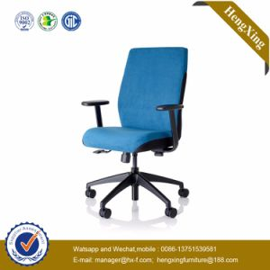 White Armrests Green Fabric Cluster Staff Clerk Chair (HX-CM126) pictures & photos