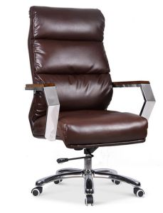 School Library Lab Boardroom Office Use Leather Boss Chair (HX-NCD237) pictures & photos