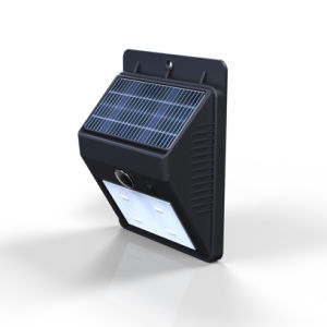 IP65 Outdoor Solar Wall Light Solar Motion Sensor Light Factory pictures & photos