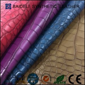 Durable PU Artificial Leather for Lady Fashion Bags/Should Bag/Handbag/Purse pictures & photos