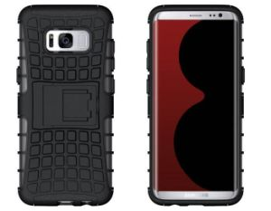for Samsung S8 Case, OEM TPU PC Slim Fit Armor Hybrid Mobile Phone Case for Samsung S8 pictures & photos