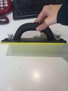 Plastic Sanding Block with Magic Tape pictures & photos