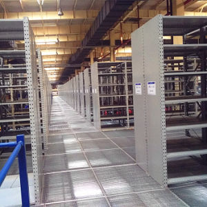 Multi-Level Warehouse Steel Storage Rack System Mezzanine Floor Rack pictures & photos