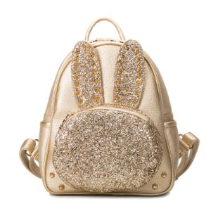 Cute Glitter Rabbit Backpack Cartoon Studs Fashion Handbags pictures & photos