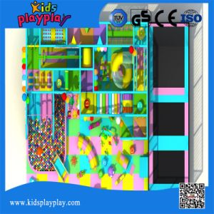 Multi Function Shopping Mall Commercial Children′s Indoor Playground with Large Trampoline pictures & photos