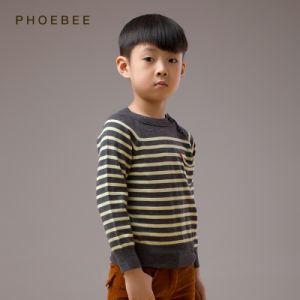 100% Wool Knitted Kids Wear for Boys Spring/Autumn pictures & photos