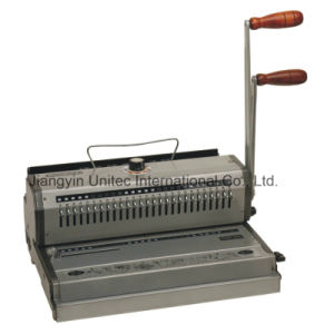 High Quality A4 Size Manual Wire Book Binding Machine Wb-2220/Wb-2220b pictures & photos
