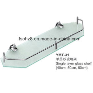 New Style Wall Mounted Bathroom Accessories Glass Shelf (YMT-31) pictures & photos