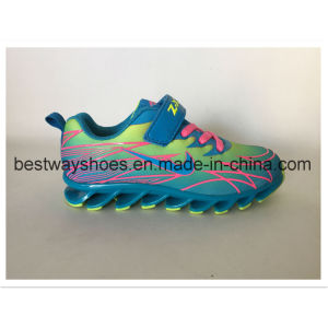 BS61915 Fashion Colorful Baby Sports Shoe Runing Shoes Children Shoe Kids Shoes pictures & photos