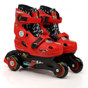 Plastic Adjustable Skate with PVC Wheel (YV-T01) pictures & photos