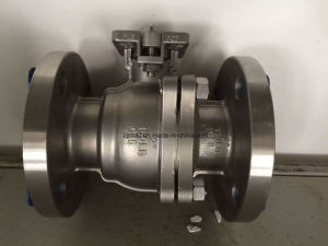 API Flange End Stainless Steel Floating Ball Valve pictures & photos