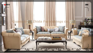 High Quality Big Size Comfortable Living Room Sofa Set pictures & photos