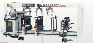 Wood Multi Three-Row Boring Drilling Machine for Woodworking pictures & photos