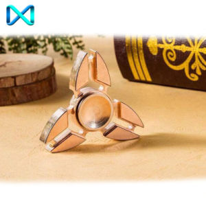 HS111 Fidget Spinner Hand Spinner Made of Copper Release Stress. pictures & photos