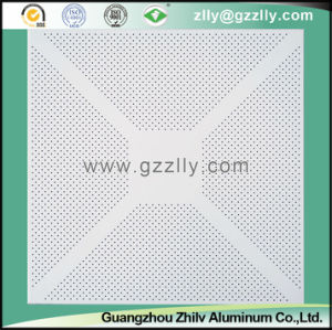 Good Price Perforated Imitation Roll Coating Metal Ceiling pictures & photos