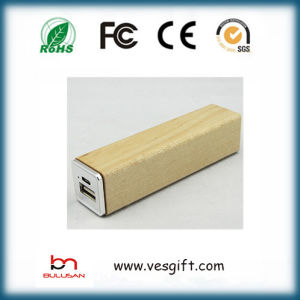 Promotion Price Wooden Design 2600mAh Charger Portable Power Bank pictures & photos