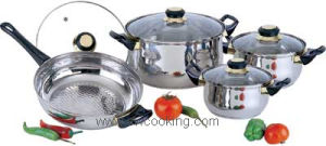 Kitchenware-6/8PCS Stainlesss Steel Cookware Set pictures & photos