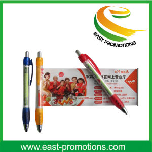 Novely Promotion Adversting Plastic Banner Pen pictures & photos