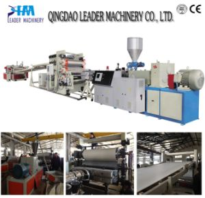 PVC Edge Band Sheet Extrusion Machine/Marble Board Extrusion Line pictures & photos