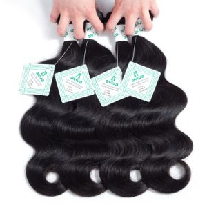 100% Virgin Hair Brazilian Remy Human Hair Extension Body Wave pictures & photos