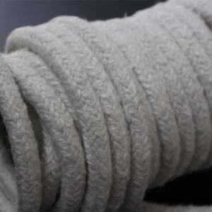 High Temperature Resistant Heat Insulation Materials Ceramic Round Braided Rope pictures & photos