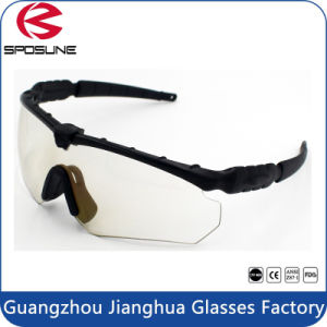 Army ANSI Z87.1 Ultralight Matte Black Advanced Shooting Glasses Unbreakable UV400 pictures & photos