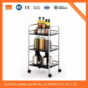 Hot Sale Metal Chrome Wire Flowers Shelf for Vietnam pictures & photos