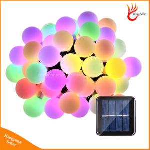 50 LED Ball String Lights Solar Powered Christmas Decorations Light pictures & photos