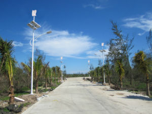 50W Solar Wind Integrated Street Light System in Nigeria pictures & photos