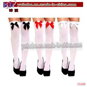 Ladies Knee Hold up Stockings Socks Women Socks (C5109) pictures & photos