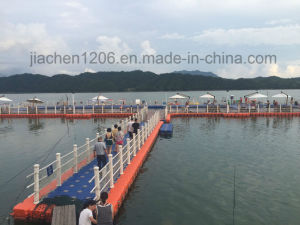 Jiachen White Handrail Connected by PP Pipe or Rope pictures & photos