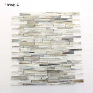 Environmental Building Material Bathroom Grey Mosaic Stained Glass Tiles pictures & photos