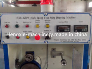 Hxe-22dw Fine Copper Wire Drawing Machine-Horizontal Type pictures & photos