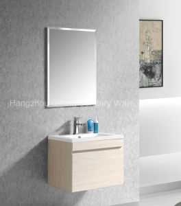 MDF Bathroom Cabinet with Melamine Furniture pictures & photos