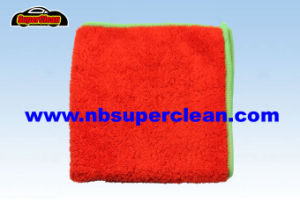 Super Fabric Best Car Cleaning Cloth Microfiber Cleaning Cloth for Car (CN3672) pictures & photos