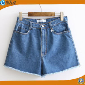2017 Summer Women Fashion Denim Shorts Basic Women Jean Shorts pictures & photos