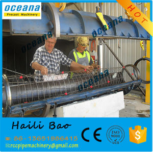 Cement Drainage Pipe Diameter 300-1600mm Length 2-4 Centrifugal Spinning Concrete Pipe Making Machine pictures & photos