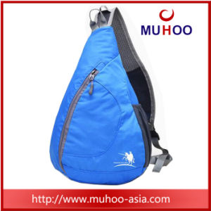 Outdoor Waterproof Black Folded Triangle Day Pack Sports Bag Backpack pictures & photos