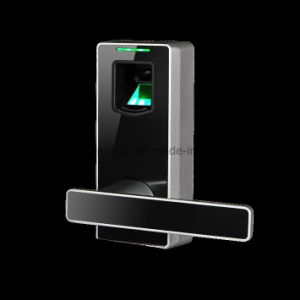 Zinc Alloy Metal Casing Bometric Fingerprint Scanner Door Lock pictures & photos