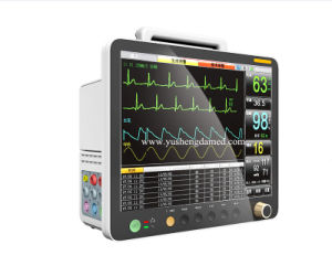 Ce Certified 15 Inch Hospital Equipment Portable Patient Monitor pictures & photos