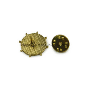 Navy Style Rudder Shape Custom Lapel Pin pictures & photos