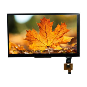 """Sun Readable High Brightness 7"""" TFT Display Panel with Lvds Interface Capacitive Touch Panel ATM0700L6J-CT pictures & photos"""