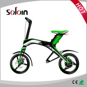 300W 48V Brushless DC Motor Mobility Foldable Balance Electric Bike (SZE300B-1) pictures & photos