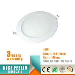 Hot Sell 15W Round LED Panel Light Ultra-Slim LED Downlight pictures & photos