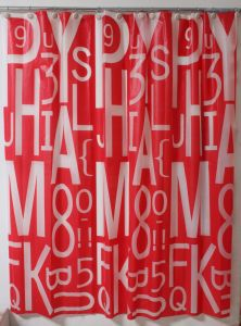 Super Letter Eco-Friendly EVA Shower Curtain pictures & photos