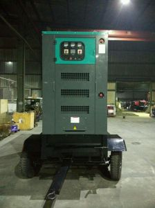 100kVA 80kw Trailer Diesel Engine Generator Sets Power by Ricardo pictures & photos
