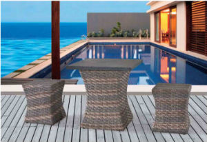 Outdoor Garden Courtyard Leisure Furniture Rattan Table Chair pictures & photos